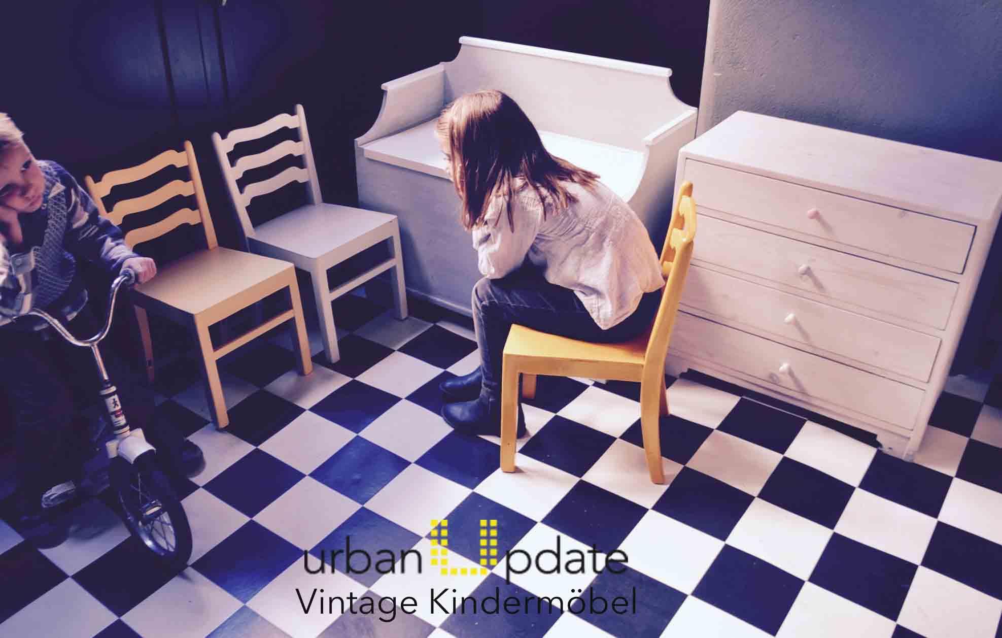 Urbanudpate Vintage Kindermöbel